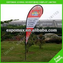 3.5m aluminum telescopic flag pole, outside flying flag pole, high quality flying banner flag pole