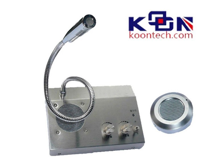 Window Two Way Interphone with CE certification for bank
