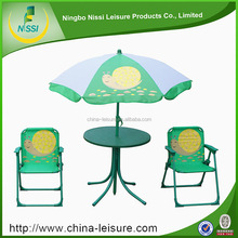 mix style leisure ways outdoor kids furniture with umbrella