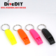 factory price safety whistle Diving Dedicated urgency Plastic Whistle