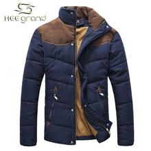 Moderní zimní pánská prošívaná bunda