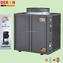 Factory sale hot water heatpump air source heat pump solar panel heater with heating/ cooling hvac system function for Vietnam