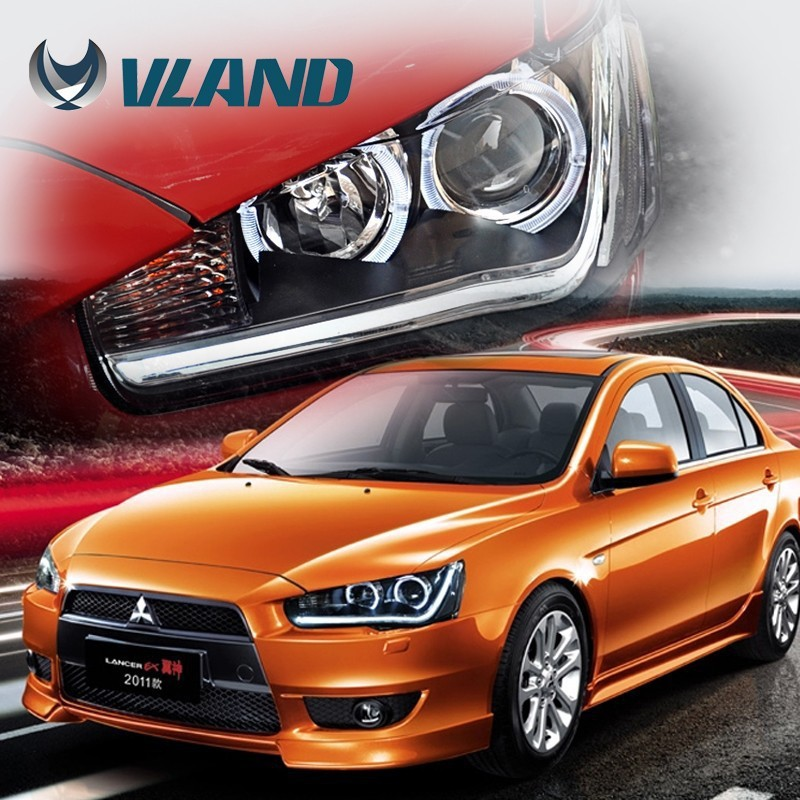 CE Rohs Vland China wholesaler auto car hid xenon light with xenon headlight lens motorcycle headlight assembly
