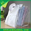 Acrylic shirt display rack/Clothing display stand/Plexiglass display props