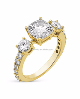 wholesale 14k gold diamond ring semi mount setting top quality