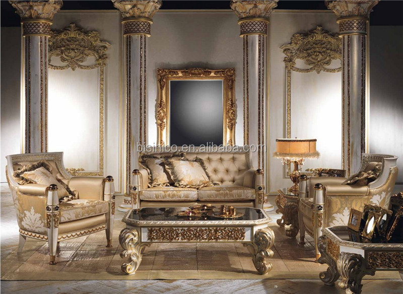 Most Por And Fashion Design Family Private Sitting Room Sofa Set Castle Wooden Br