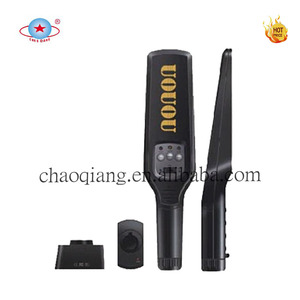 Long rang hand held metal detector, portable and rechargeable handheld body scanner