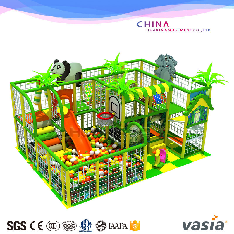 Vasia Toddler Game Panda Theme Park Indoor Playground Equipment