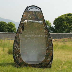 Single Layers and steel wire Pole Material Sports Pod Pop-up Tent, pop up tent pod