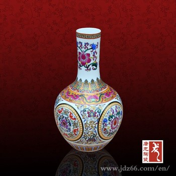 Modern Design Good Quality Hand Painted Pastel Small Round Vases