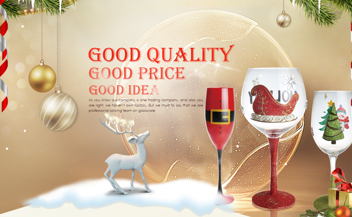 Shanxi yuecheng trading company limited glassware wine glass