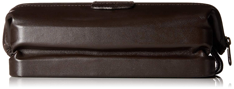 Dopp Men's First Class Leather Seasoned Traveler the Original Kit