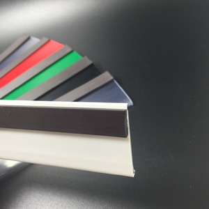 Magnetic Metal Shelf Label Holders