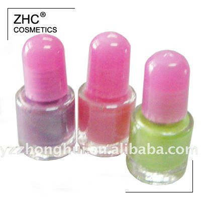 CC5157 Multi color water based nail polish for kids
