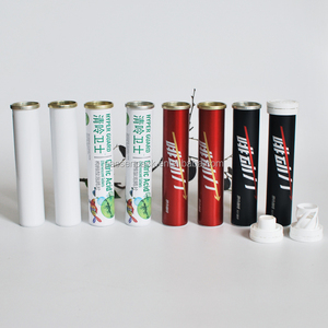Aluminum tube for effervescent tablets