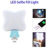 Selfie Ring LED Light for Phone with Phone Emergency Charger 500mAh Girl Makeup