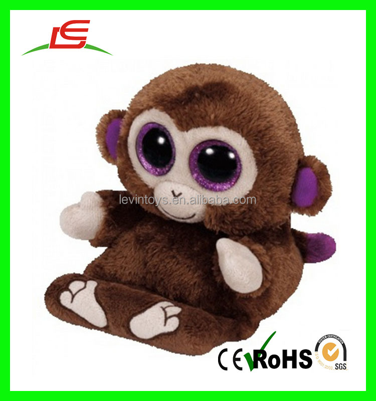Fashion Cheap Stuffed Monkey Naughty Cute Plush Carton Monkey Cell Phone Holder