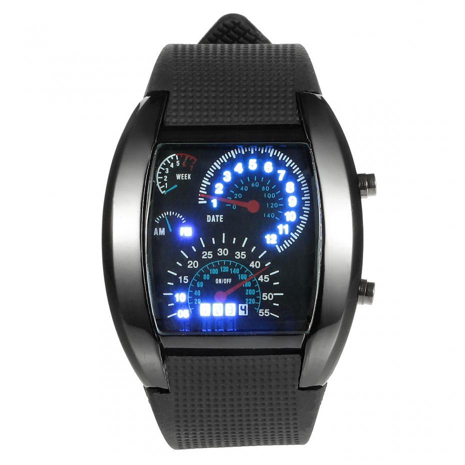 led watch black - photo #47
