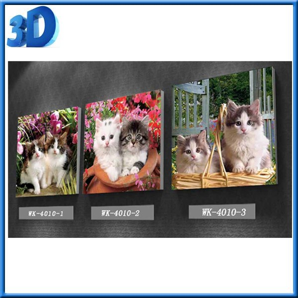2016 China Factory Cartoon 3D Picture for Home Wall Art Decor