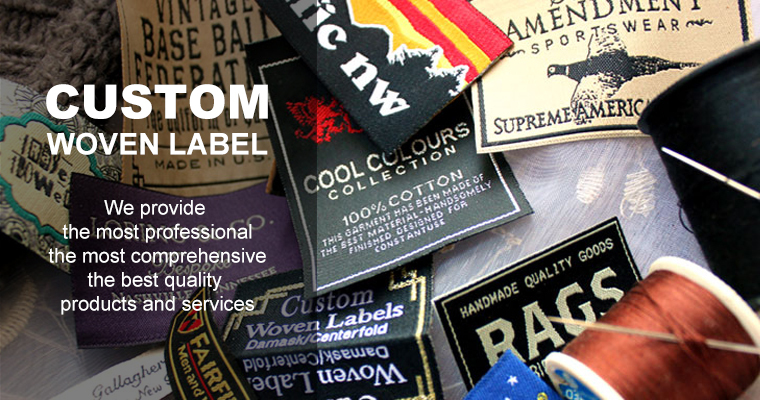 Custom Iron On Sewing Label Tags