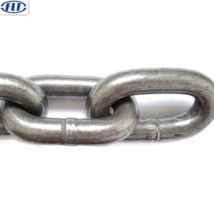 China Grade 80 Black Paint Steel Lifting Chain Factory
