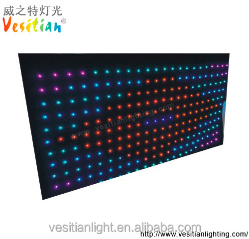 transparent shower colorful curtains/led twinkling stars curtain lights/fairy lights curtain