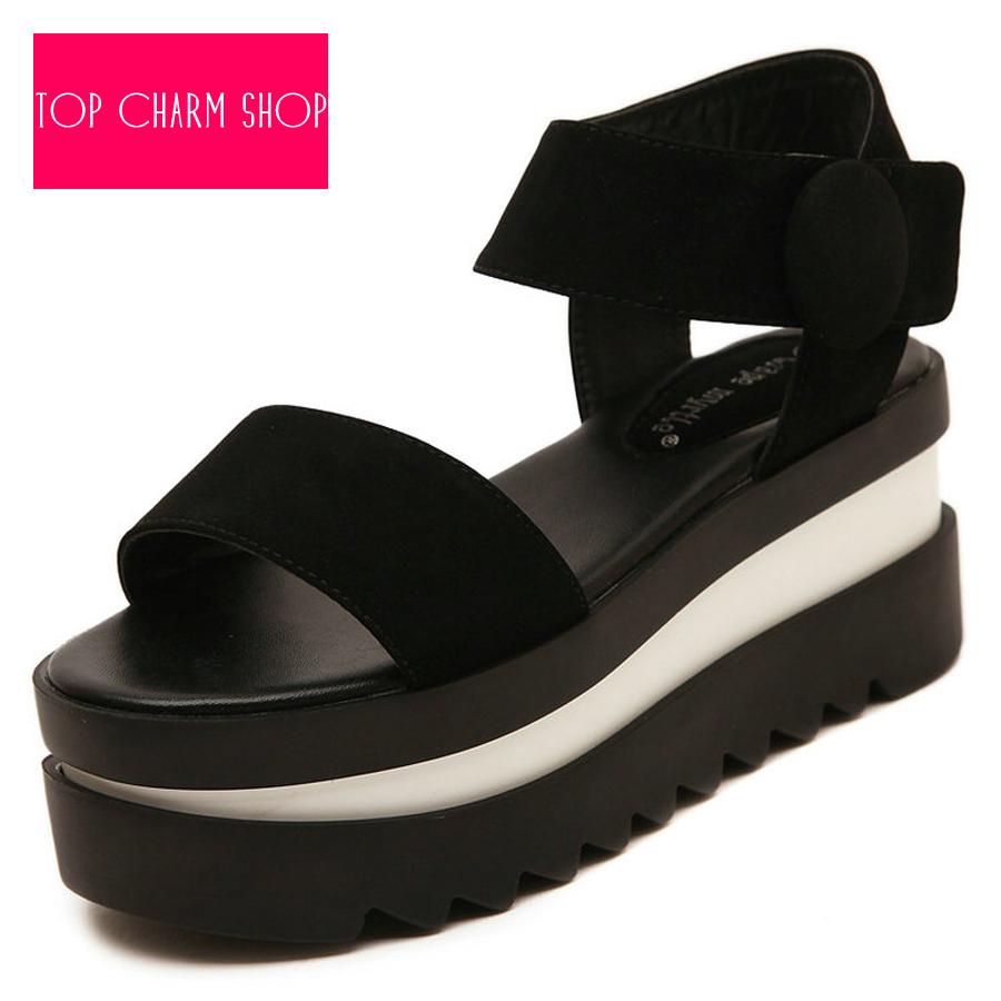 a6b4d4f621 Get Quotations · 2015 New Women Summer Women's Shoes Sandals Platform  Sandals Wedge Sandals Ladies High Heel Shoes Beach
