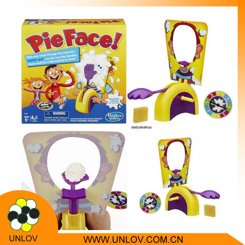 wholesale guangzhou toy from china promotion toy party games pie face