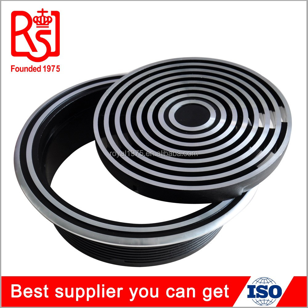 Factory metal air diffuser under floor round adjustable air conditioning vent diffuser