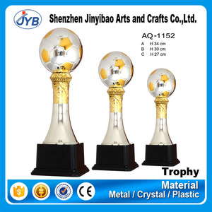 Best Europe feature trophies supplier design your own metal gold sport soccer basketball golf trophy cup