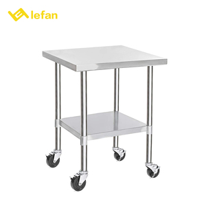 Stainless Steel Tea Service Restaurant Bar Cleaning Cart