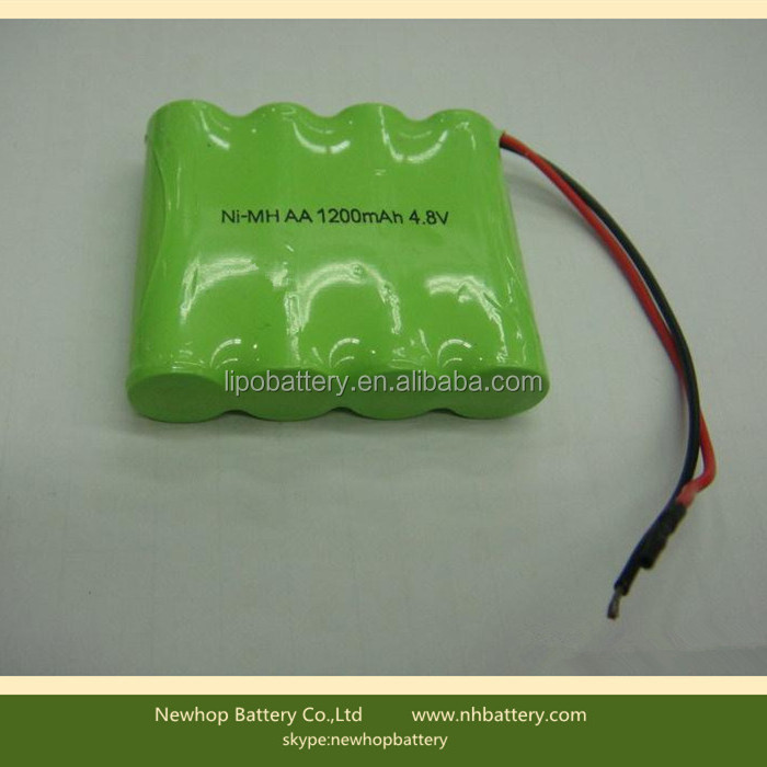 4.8v 4000mah nimh battery pack for emergency light