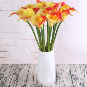 wholesale real touch silk artificial flower calla lily