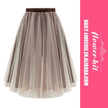 Cheap Layered Maxi Petticoat Tutu Skirt Women Sexy Party Rockabilly Porm Dress