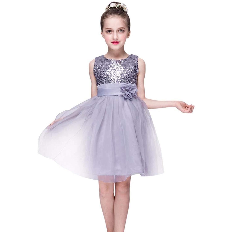 Brightup Baby Kids Girls Sequins Party Dance Ballet Tutu Skirt Dress Fairy Dress