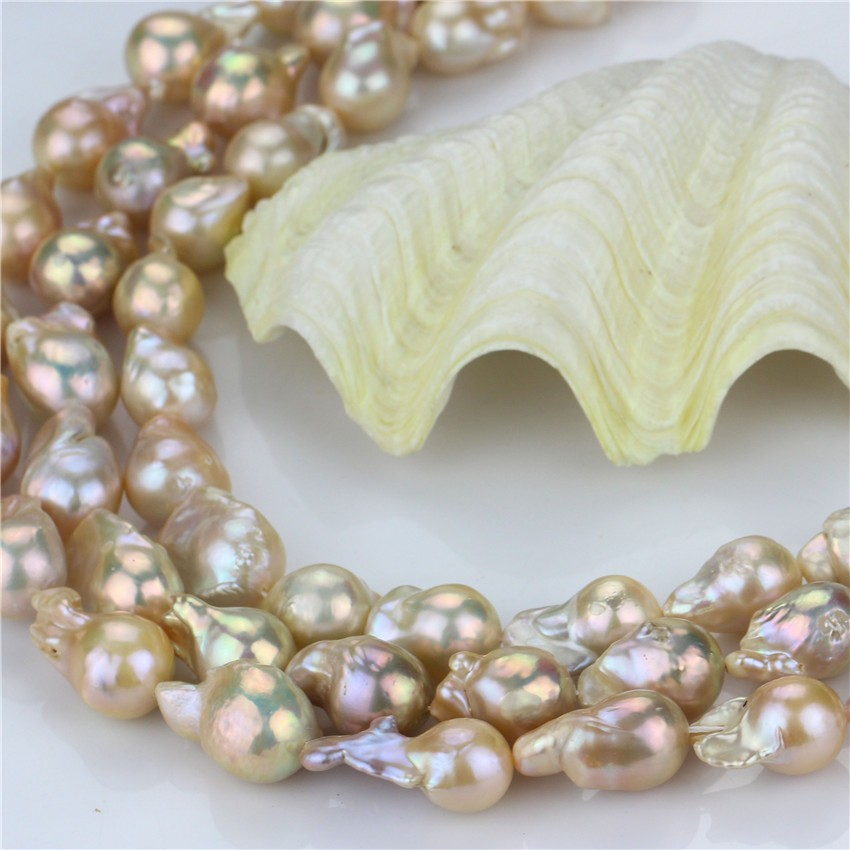peach chain pearls pastel silver cultured p sterling rondelle freshwater sensations pink asp necklace