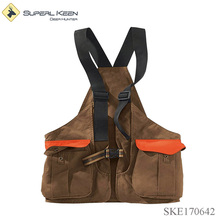 Waxed Cotton Hunting Strap Vest Waterproof Vests
