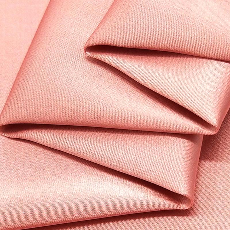Elastic polyester duchess satin fabric China supplier cloth fabric