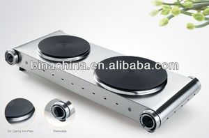 High Quality Elegant 2 Burner Electric Hot Plate Cooker With CE A13 For Promotion