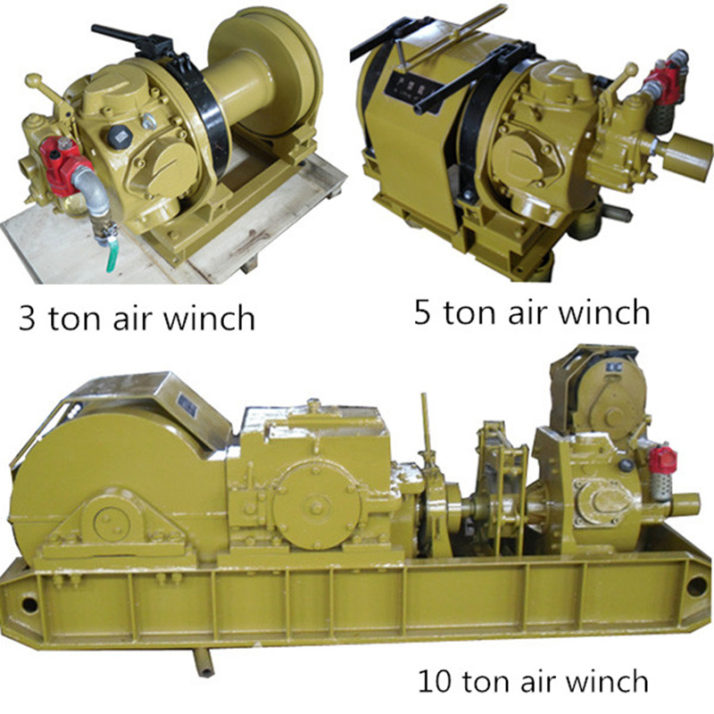 Made In China Pneumatic Air Drill Powered Winch