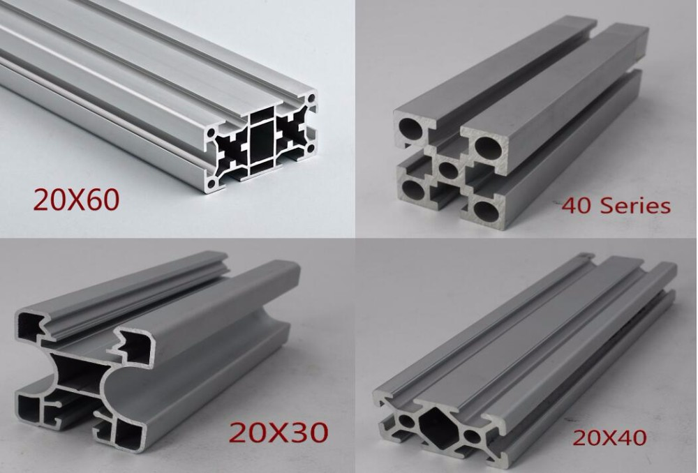 20x40 V-slot Linear Rail Aluminum Extrusion Profiles T Slot For ...