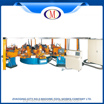 and polishing machine
