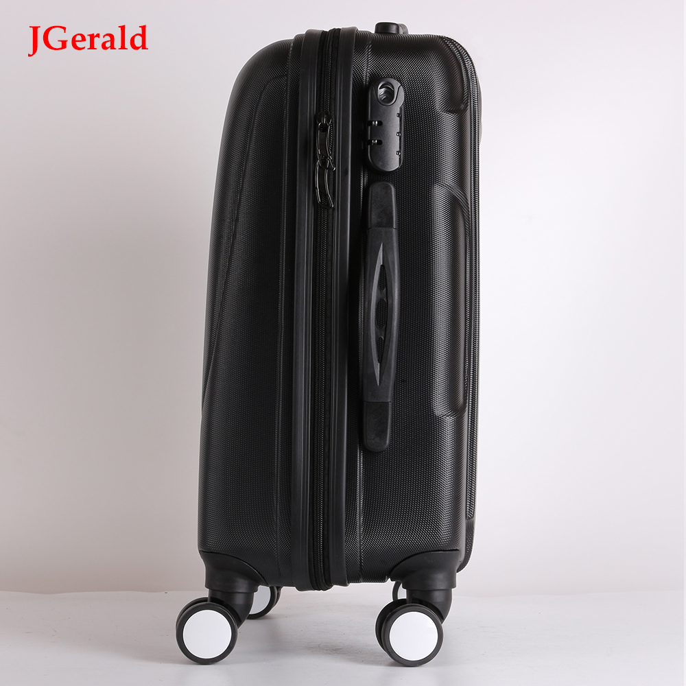 Factory direct verkoop trolley abs + pc hand reisbagage abs trendy stijl