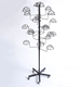 Shop fitting for wholesale stander metal maps display rack with wheels