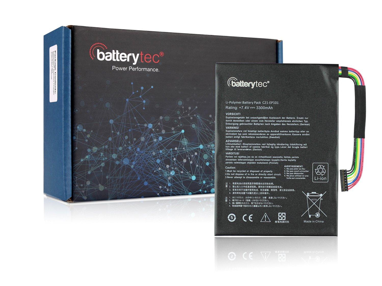3300mAh Batterytec® Battery for ASUS C21-EP101 C21EP101, ASUS Eee Pad Transformer Tr101 Tf101, ASUS Eee Transformer TR101 TF101. [7.4V 3300mAh, 12 Months Warranty]