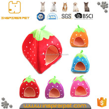 Cute Strawberry Pet Bed Dog Bed