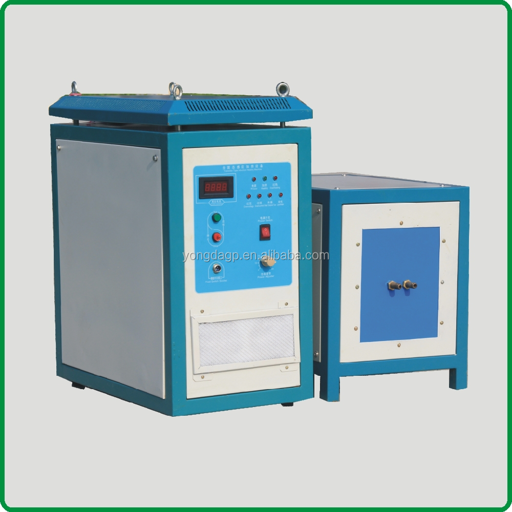 100% duty cycle high frequency induction brazing machine 20KW