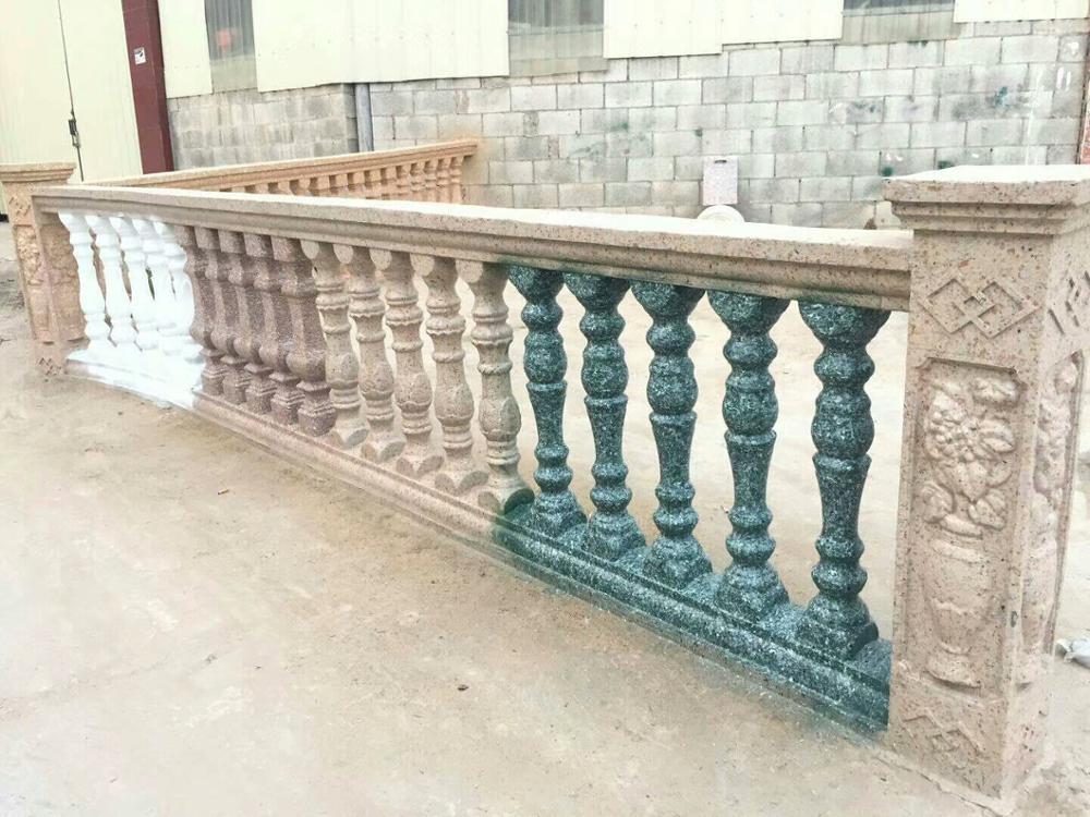Concrete pillar baluster plastic mould