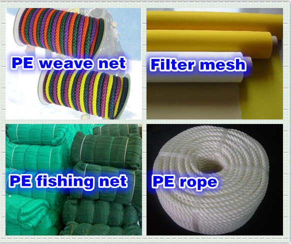 100% high quality HDPE 0.10MM Monofilament Yarn