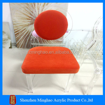 cheap acrylic furniture. Transparent Plexiglass Acrylic Chairs With Cushions Cheap Furniture U